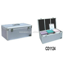 alta qualidade CD 420 discos CD caixa de alumínio grosso