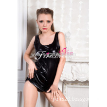 Sexy Products Sexy Lingerie Cosplay Costume Beautiful Sleeveless Leather Skirt P-001