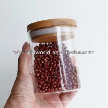 Airtight Glass Small Candy Jars With Lid