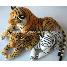 Gefüllte Tier Wald Tiger Realistische Plüschtier