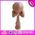 Intelligent Funny Wooden Kendama for Kids, Wooden Toy Kendama for Children, Wooden Kendama Toy with 18.5*6*7cm W01A022