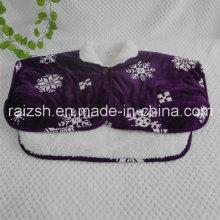 Платье из хрусталя Супертонкий бархатный платок Трехслойный мягкий флисовый теплый