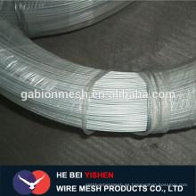 BWG8 galvanizado electro alambre con la fábrica directa del precio bajo
