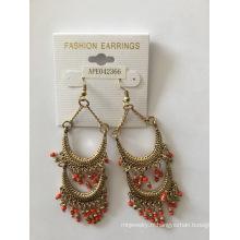 Perles colorées boucle d'oreille nouveau mode bijoux bijoux populaires