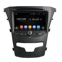Android 7.1 Car DVD Player สำหรับ SsangYong Korando 2014