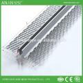 M geformter Stahlputz Wandschutz Metall Eckperle für Beton