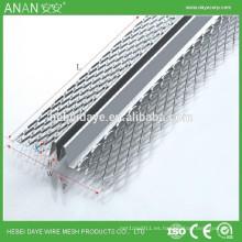 Cuenta de metal en forma de M de rejilla de protección de metal esquina de perla para el hormigón