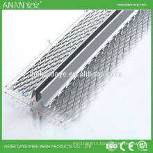M shaped steel plaster wall protection metal corner bead for concrete