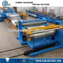 Automatic Rewinder Coil Steal Sheet Plate Panel Slitting Line , Auto Galvanized Steel Sheet Slit LIne With Recoiler
