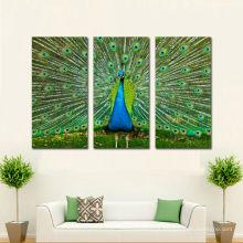 Fotos digitais impressas em tela para decoração