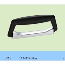 Tapa plástica y manija inferior de metal para la caja y la caja de aluminio