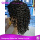 Kinky Curly Wigs Brazilian Human Hair