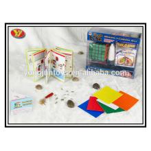 Jouets en gros magiques en gros de cubes carrés pour les promotions et les enfants