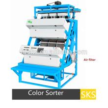 Kleine CCD-Tee-Farbsortiermaschine für landwirtschaftliche Produkte Verarbeitung