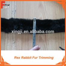 Guarnição de pele de coelho Real Fur Rex