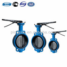 Cast iron gost wafer butterfly valve center line good price valve