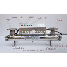 2015 esterilizador ultravioleta caliente de la venta para el tratamiento de agua agrícola hecho en China