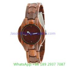 2016 Top-Qualität Holz Uhr für Frau (JA-15011)
