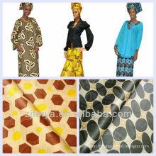 Mode Nouveaux dessins Afrique Guinée Brocade Vêtement Tissu Bazin Damassé Shadda 10Yards / Pièce 5% OFF PROMOTION