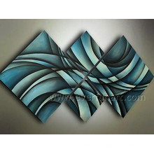 Handmade Modern Abstract Canvas Art Oil Painting (XD4-216)