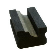 Almohadilla para pulir con piedra Glsss electrificada de níquel electrolizado a mano