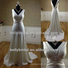 Сексуальная спинки красивые длинные свадебные платья MB13266