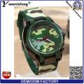 Yxl-182 Мода Военный Мужчины Женщины Часы Силиконовые Свободного Покроя Кварцевые Наручные Часы Собственный Логотип Спорт Армия Мужская Часы
