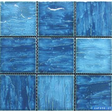 Mosaico piscina dimensioni chip 95x95mm
