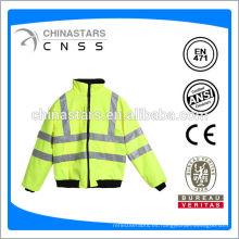 Chaqueta de seguridad reflectante, chaqueta de seguridad de alta visibilidad, chaqueta de seguridad impermeable