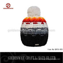 2016 Custom Beanie Hut mit Top Ball