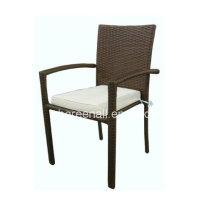 Rattan ao ar livre / cadeira de lazer de móveis de jardim de vime
