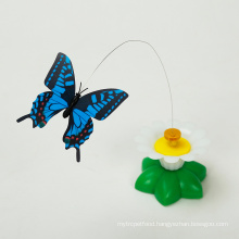 Auto Butterfly Flower Cat Toy