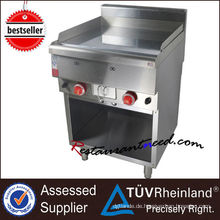 K256 CER Zertifikat Edelstahl Gas Bratpfanne für Restaurant Verkaufsförderung