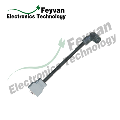 Custom Servo Cable for FANUC System Servo Motors