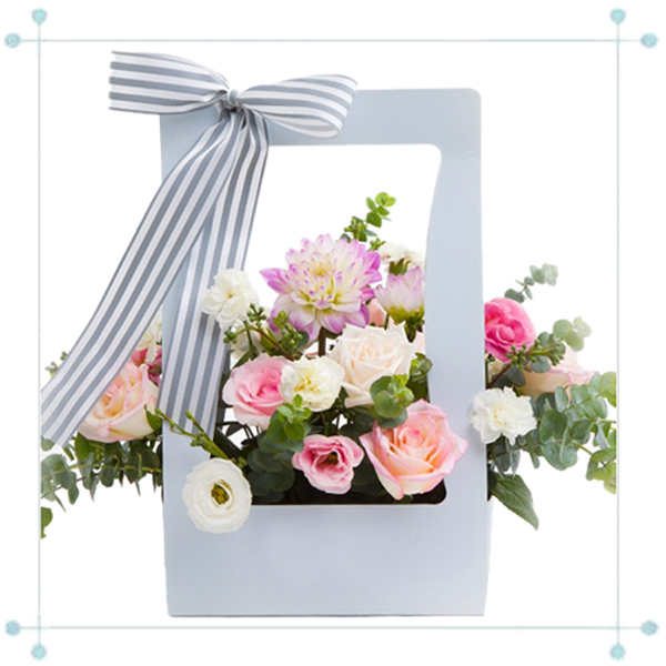 Paper Gift Flower Box LY2017032928-12