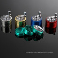Manufacturer Smoking Grinder for Daily Use with Handle Style (ES-GD-011)
