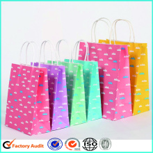 Customized printed shopping paper bags