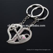 Clé de votre coeur porte-clés eco-friendly ouvrez votre coeur I LOVE YOU porte-clés YSK009