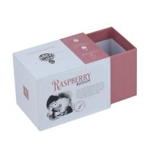 Logo custom printed drawer slide cardboard boxes for flower tea packaging