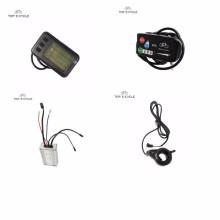 Pantalla LCD de inteligencia de rendimiento inteligente para kit de bicicleta eléctrica ebike