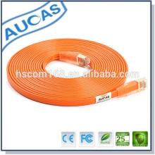 Guter Preis 10/100 / 1000M cat6 utp oder cat5e utp Kabel Faser optic utp arange Patchkabel