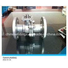 Tapa de montaje alta ISO 5211 Válvula de bola de acero inoxidable
