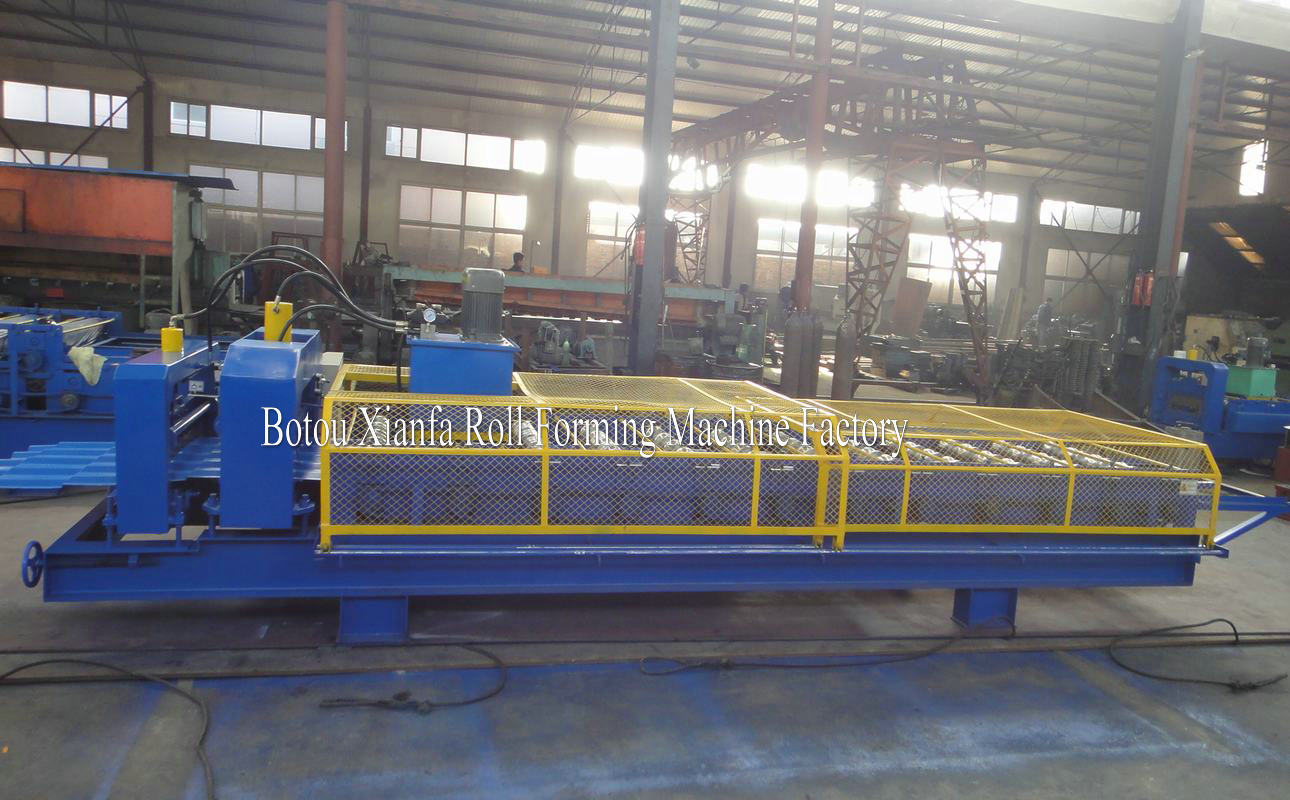 Angola glazed tile roll forming machine