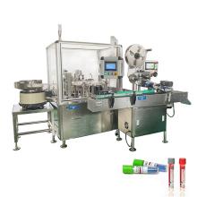 GMP Standard vtm test tube filling machine,chemical test tube filling capping machine