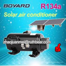 Hermético rotativo bldc coche eléctrico compresor para aire acondicionado de baja tensión solar