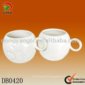 Factory direct wholesale ceramic football mug