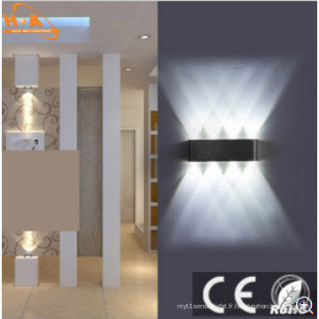 Lampe Murale Noire Haute Qualité 6W8w