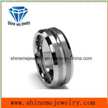 Matte Surface Tungsten Trend Fashion Tungsten Jewelry Ring Tst2866