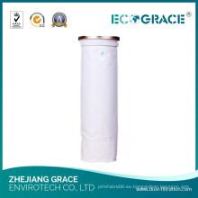 Bolso de filtro del polvo del aire del medio PE del paño de espesor de 1.9mm