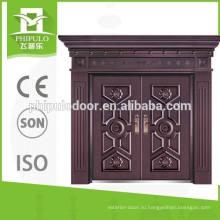 Современный дизайн коттеджа с двойной защитной дверью